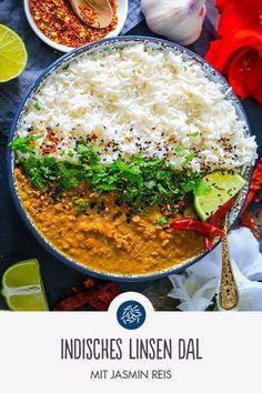 Indisches Linsen Dal mit Jasmin Reis
