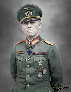 "Erwin Rommel 54. (1891 – 1944) Nickname: ""The Desert Fox"" Death: Suicide by cyanide on 14 October 1944."