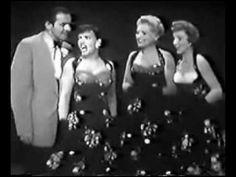 Judy Holliday, Kay Starr, Janet Blair and TYRONE POWER...Chattanooga Choo Choo...REALLY RARE!!