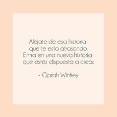 Crea tu propio camino donde puedas ser feliz. #mividacrote #frases #oprah Oprah Winfrey, Lets Celebrate, 21st, Cards Against Humanity, Let It Be, Instagram Posts, Quotes, Frases, Positive Messages