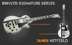 Metallica's James Hetfield Iron cross signature series& LTD Iron Cross…