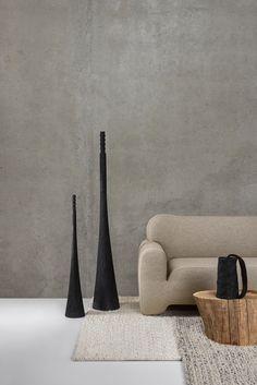 Ukrainian design Faina makes minimal furniture from clay and flax… Furniture Making, Furniture Decor, Furniture Design, Minimalist Design, Modern Design, Design Art, Keramik Design, Interior Decorating, Interior Design