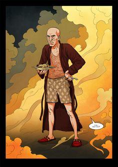 Graphic novel / Our Friend Satan / graphic novel and movie / Dominik L. Marzec