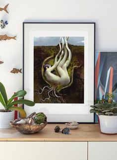 The Seed. Limited edition Illustration art giclée print, signed and numbered by the artist. Polish art A2 poster. by PawelJonca on Etsy https://www.etsy.com/listing/122825169/the-seed-limited-edition-illustration