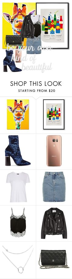 """Без названия #110"" by stylebyangelina ❤ liked on Polyvore featuring Trademark Fine Art, 3.1 Phillip Lim, Samsung, Topshop, Givenchy, Acne Studios and PBteen"