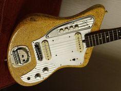 Guitar Blog: More vintage Japanese solidbody wackiness: Zenon ZES-170