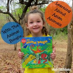 The Animal Boogie & Asian Animals with a jellybean distribution map - Mud Hut Mama