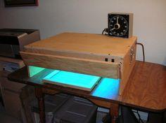 UV Light Box - Photographers Formulary - Make my own! Labo Photo, Uv Photography, Alternative Photography, Photo Processing, Cyanotype, Ultra Violet, Screen Printing, Prints, Cameras