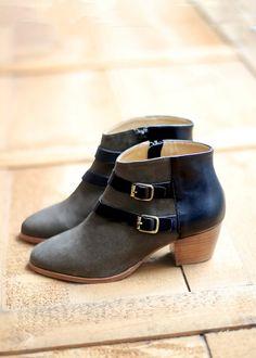 Sézane / Morgane Sézalory - Cooper boots #sezane #cooper www.sezane.com/fr