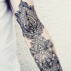 Artist : Jessica Svrtvt #tattoo #dotart #dotwork #mandala #tattoos #tattooist #tattoolife #besttattooartist #tatuaje #girl #dream #studio #art #draw #illustration #picoftheday #arm #style #amazing #lifestyle #summer #sorrymummytattoo #tattooed #inked #ink #details