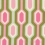 Heather Bailey Garden District HEAVY CANVAS Caiman Stripe Pink Pattern for bargello pillow