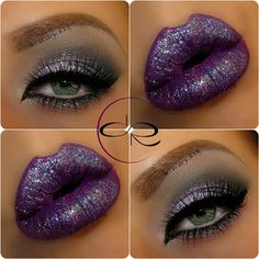 Glitter lips & eyes