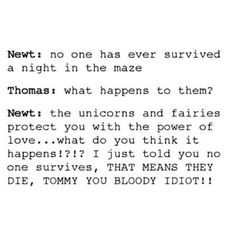 Omfg this is exactly how every author wants to respond when a character says/does something idiotic. Spot on.