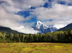 Mount Robson, highest mountain in the Rockies (3,954m/12,972ft).