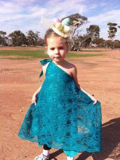 Girls handmade dress #obsessivecreativedesign #easter