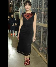 740f38f22b Daisy Lowe attends the Christopher Kane show during London Fashion Week  Daisy Lowe