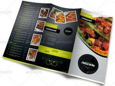 40 Delicious Restaurant Menu Designs | Sizzling Magazine