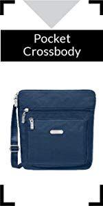 Baggallini Sydney Crossbody Magenta Handbags