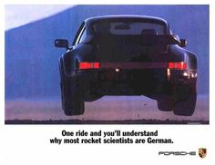 One ride and you'll understand why most rocket scientists are German.    fabforgottennobility