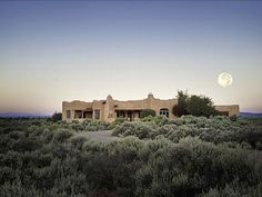 Taos house rental - 3250 sq. ft. Hacienda style adobe home in the prestigious Blueberry Hill area