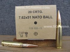 1200 Round Case - 7.62x51 NATO Spec 147 Grain FMJ Ball Ammo - New Production Ammunition made by GGG in Lithuania