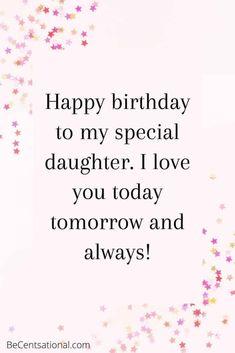 Happy Birthday Daughter Wishes, Best Birthday Wishes Quotes, Birthday Message For Daughter, Happy Birthday Wishes Messages, Beautiful Birthday Wishes, Happy Birthday Quotes For Friends, Birthday Girl Quotes, Birthday Wishes For Myself, Happy Birthday To
