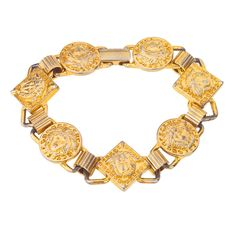 giovanni versace collections | GIANNI VERSACE MEDUSA BRACELET at 1stdibs