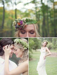 Head Over Heels For: Flower Crowns