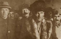 Mustafa Kemal in Ankara during Turkish War of Independance.