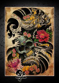 Dragon poster thingy by WillemXSM.deviantart.com on @deviantART