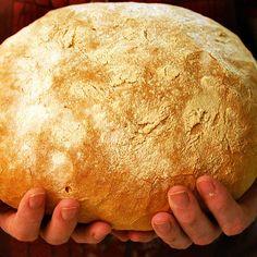 Хлеб на закваске, без дрожжей