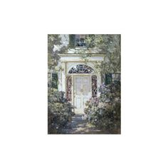Doorway, 19th Century Wall Art Print ($8.99) ❤ liked on Polyvore featuring home, home decor and wall art
