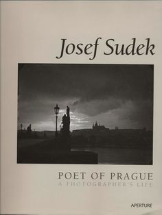 He was a Czech photographer lovingly nicknamed The Poet of Prague. Josef Sudek was born March 1896 in Kolín, Bohemia and died September 1976 in Prague. Josef Sudek, Photo Lens, Austro Hungarian, Book Writer, Great Photographers, Pictures Of You, Prague, Poet, Joseph