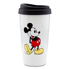 "Found on disneystore.com- a ceramic mug with ""love"" on the alternate side."