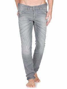 "Diesel Men's ""Belther"" Gray Jeans Wash 0818V Regular-Slim Tapered 27x32 NWT $328…"