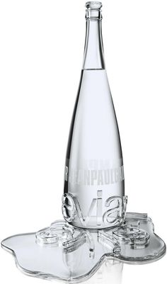 """Evian SE 2009 Tokyo"" by Jean Paul Gaultier, haute couture version (crafted by House of Baccarat)"