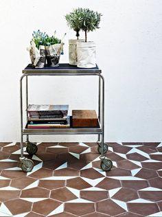 wildbirdscollective:    (via #Graphic tiles from Scandinavia to Morocco)Contemporary tiles by Marrakech Design and Claesson Koivisto Rune