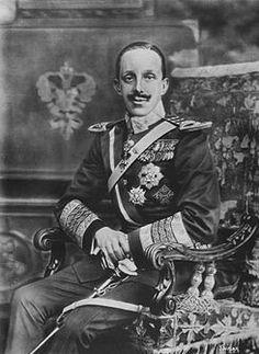 Rey Alfonso XIII de España, by Kaulak.
