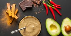 Mexican Chocolate Smoothie with avocado, chili and cinnamon