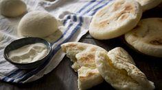 Moroccan semolina flatbread
