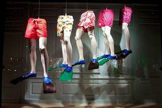 Sak's Swim trunks display