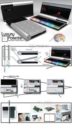 Luxury Palette Mobile Phone