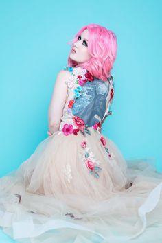 Kelly Eden Tattoo Life Calendar Girl - May Kelly Eden, Hannah Snowdon, Grace Neutral, Calendar Girls, Life Tattoos, Inked Girls, Pink Hair, Female Bodies, Tattoos For Women