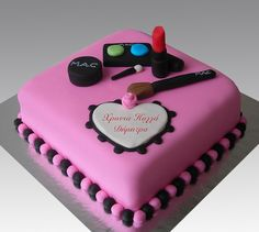 Make up MAC cake