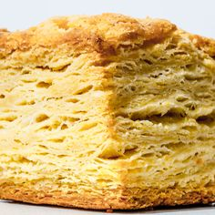 Stacking and flattening the dough creates lots and lots of flaky layers that beg to be pulled apart and slathered with softened butter. And honey, if you're into that sort of thing. This is part of BA's Best, a collection of our essential recipes.