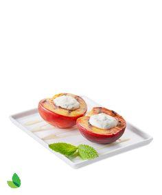 Grilled Peaches with Truvía® Brown Sugar Blend and Truvía® Nectar