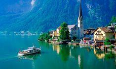 Hallstatt in Austria's lake district from 10 best European walks