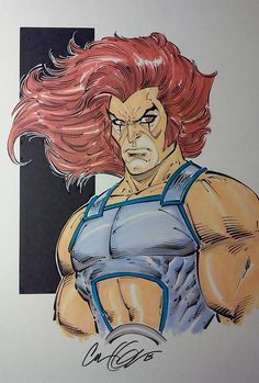 ThunderCats - Lion-O by Cory Hamscher *