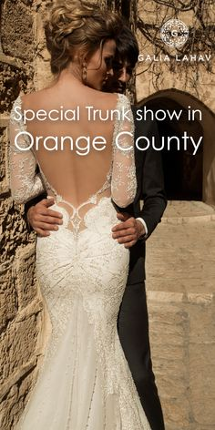 We invite you to a special event - California, Orange County - Trunk Show at The White Dress 17 - 19 April, 2015 Galia Lahav is greatly looking forward to meeting you and creating your dream dress for the big day. It's our duty to make you the most magnificent bride that ever was as we invite you to see our entire collection of dresses and guide you towards making your fairytale come to life!