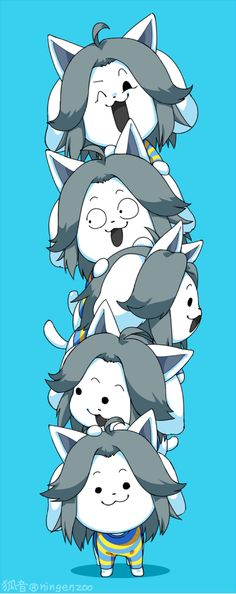 HOI ! ! I'M TEMMIE AND THESE ARE MY FRIENDS , TEMMIE (and Bob)!!!!!!!